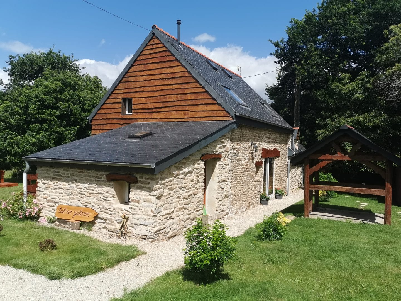 Location vacances gite atypique luxe Rosporden Tal Ar Galonn 5 - Accueil